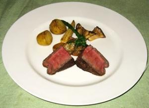 牛フィレ 鉄板ステーキ