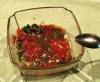 トマトのコンカッセを主体としたソース