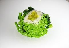 小松菜のパスタ