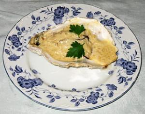 牡蠣・白ワイン蒸しのオーブン焼き