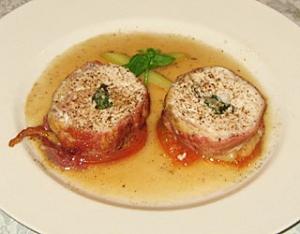 鶏胸肉モッツァレラ巻き