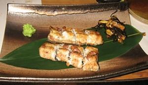 天然鰻 白焼き