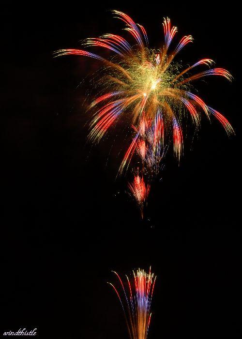 土浦の花火�