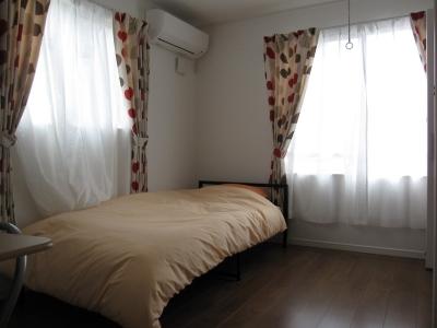 とても明るいお部屋です。