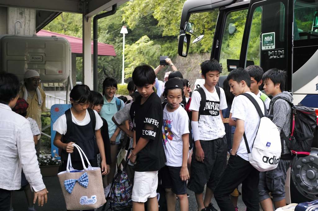 バス 到着