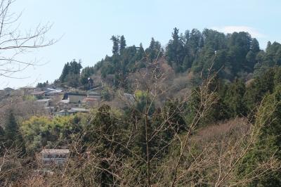 御岳山の住宅