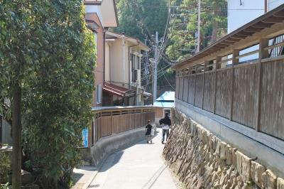 住宅の通り