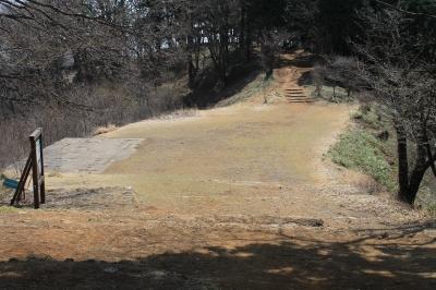 展望台への道2