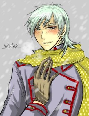 冬のウエスター君