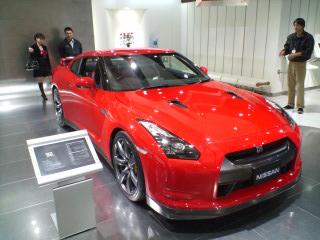 赤いGT-R