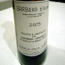 barbera d'alba 2005