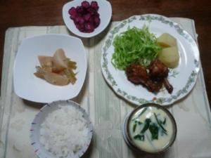 鶏骨付きモモ肉のさっぱり煮