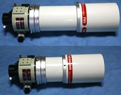 FSQ106EDの伸縮