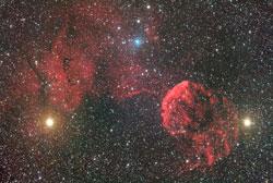 ふたご座のクラゲ星雲