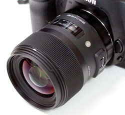 シグマ35mmF1.4レンズ