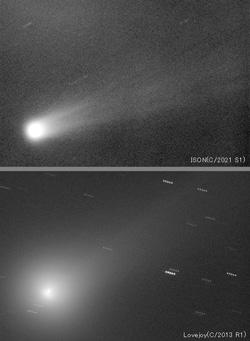 アイソンとラブジョイ彗星