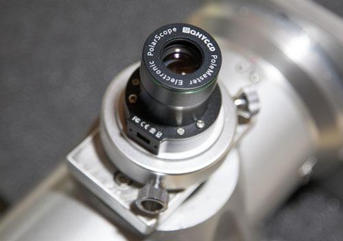 ヘラクレス赤道儀とPoleMaster