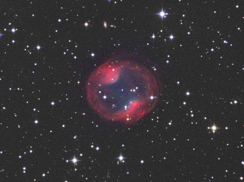 やまねこ座の惑星状星雲