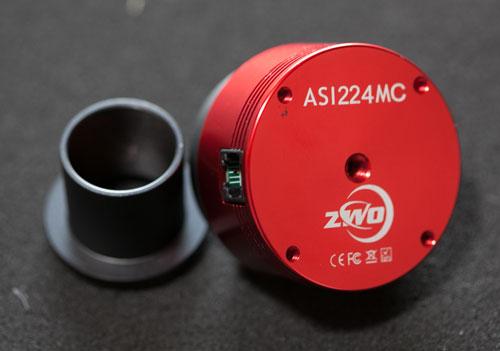 ASI224MCカメラ