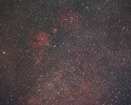 ほ座超新星残骸日本から