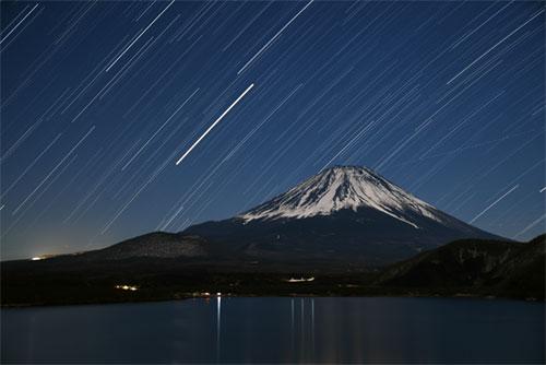 木星と富士山