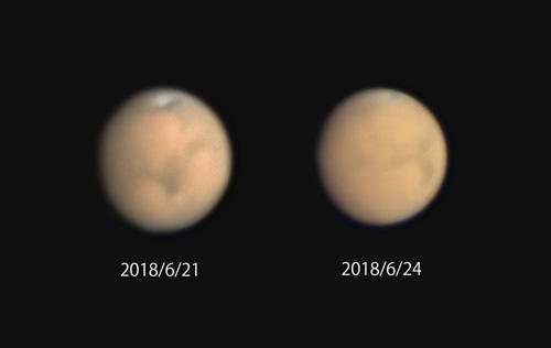 2018年の火星