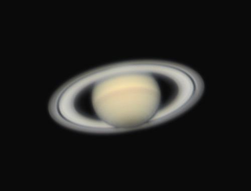土星の写真