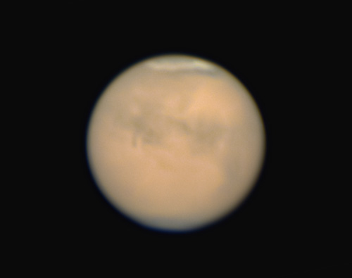 最接近した火星