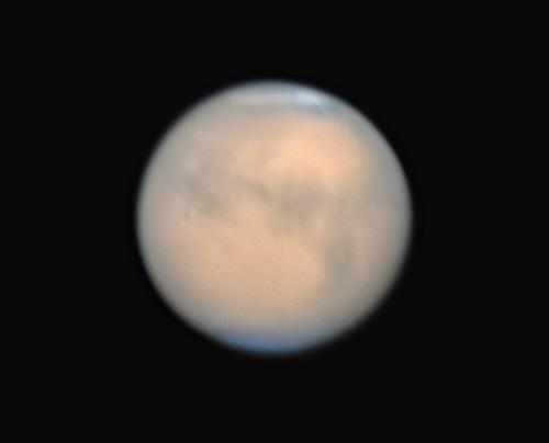 接近中の火星