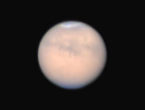 大接近後の火星