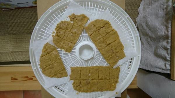 食品乾燥機で乾燥