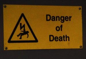 死の危険アリ
