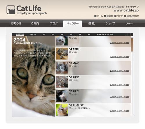 猫写真ギャラリー2004