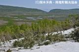 120615湿原展望台から湿原全景