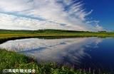 2012雨竜町観光フォトコンテスト優秀賞 流れ雲と湿原 佐藤 圭(北海道留萌市)