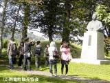 2012雨竜町観光フォトコンテスト佳作 史跡に学ぶ 千葉 りつ子(北海道赤平市)