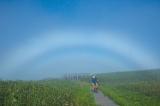 2013雨竜町観光フォトコンテスト佳作 松崎克志 白虹との出合い(北海道札幌市)