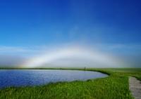 最優秀賞「神秘の白虹を行く」