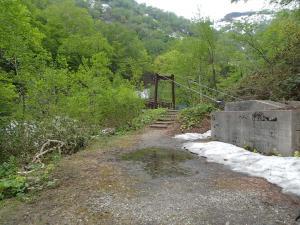 180613渓谷第1吊橋付近