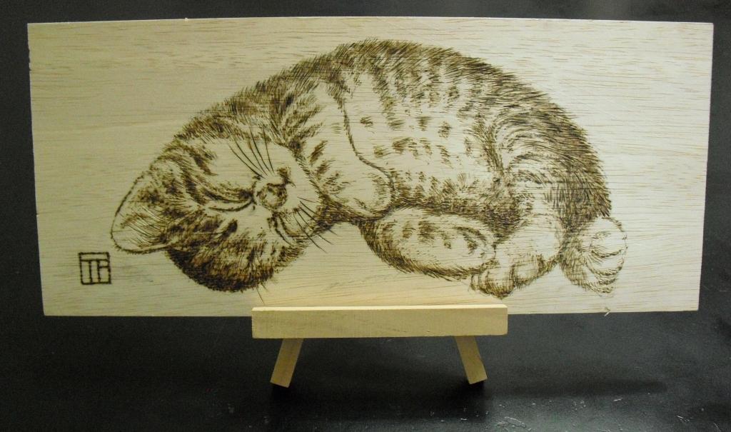 2焼き絵猫