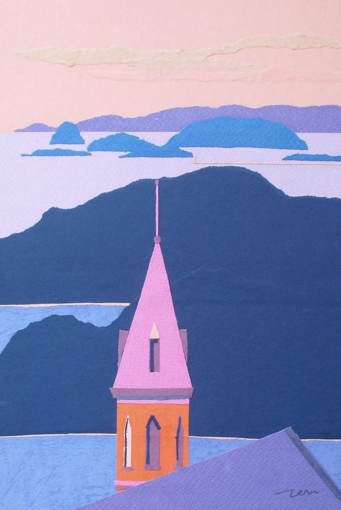2教会と海.JPG