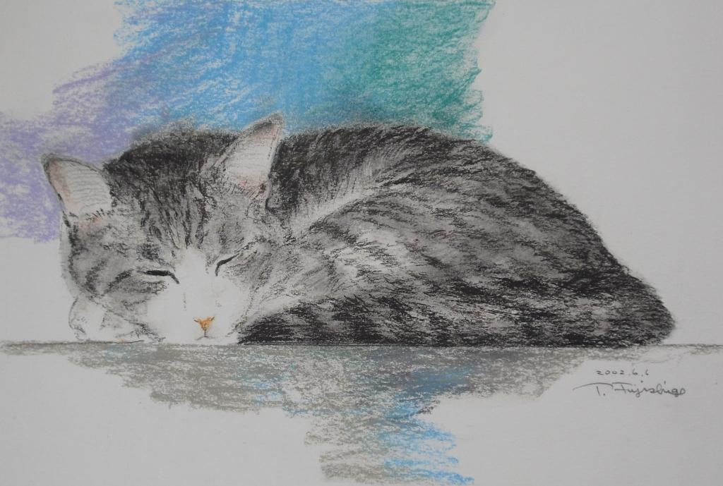 1パステル猫絵.JPG