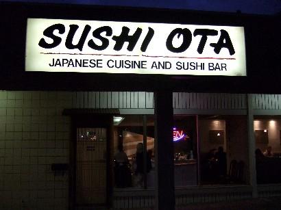 大人気のお寿司屋さん