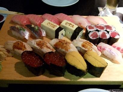 大好きなお寿司