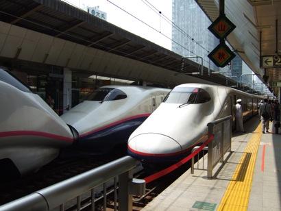 久々の長野新幹線