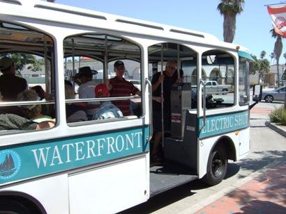 循環バスが便利