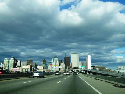 ボストン到着