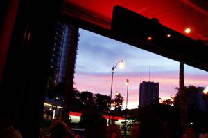 ケオスから見た夕日
