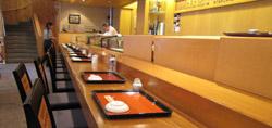 巽寿司カウンター