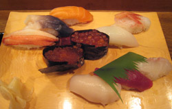 巽寿司ランチ